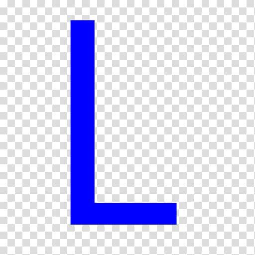 Letter Blue Alphabet Computer Icons, Letter L Icons No.