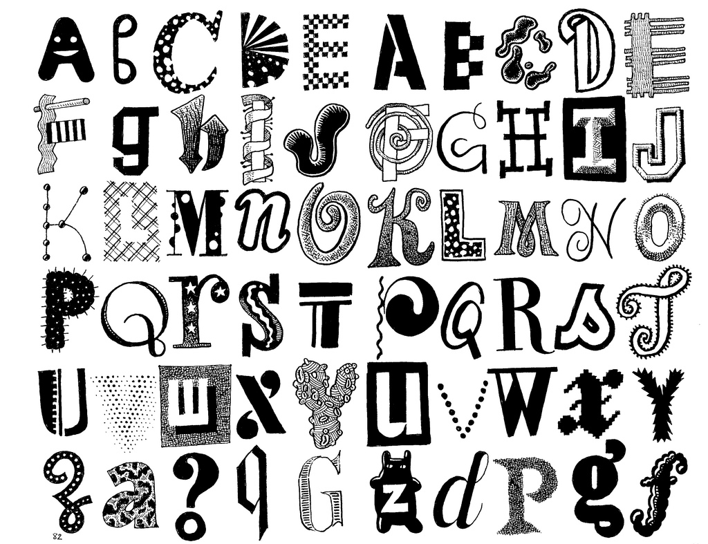 Free Cool Alphabet Letter Designs, Download Free Clip Art, Free Clip.