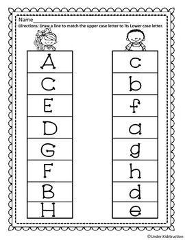 Match Uppercase Letter with Lowercase Letter.