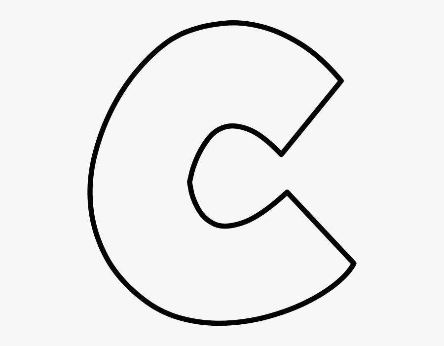 Letter C Outline Png , Free Transparent Clipart.