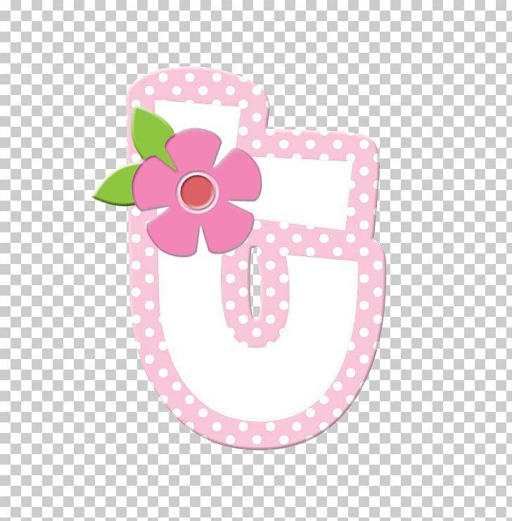 Letter Alphabet Poster Color, alphabet in polka dots PNG.