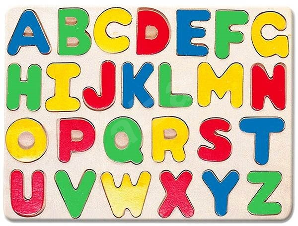 Bino Alphabet Puzzle.