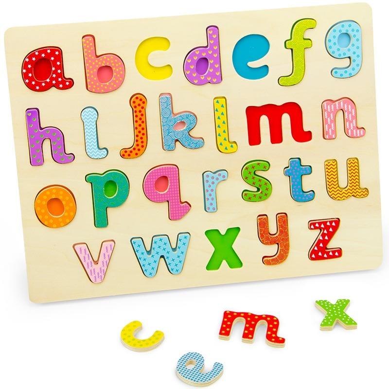 Professor Poplar's Lowercase Alphabet Puzzle.