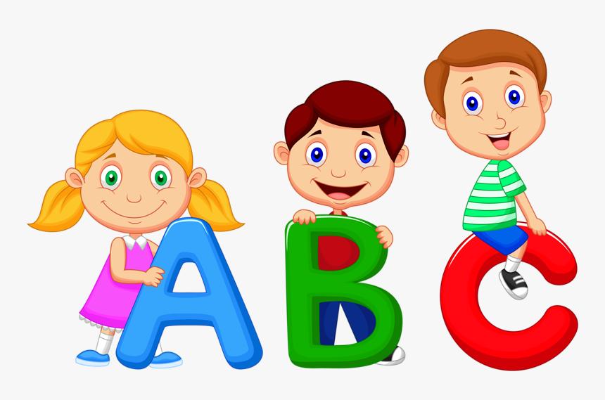 Alphabet Song Cartoon Clip Art.