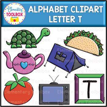 Letter T Alphabet Clipart (Beginning Sounds).