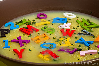 Alphabet Soup Stock Photos, Images, & Pictures.