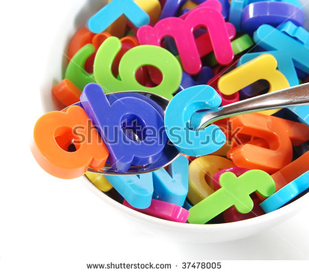 Alphabet Soup Stock Photos, Royalty.