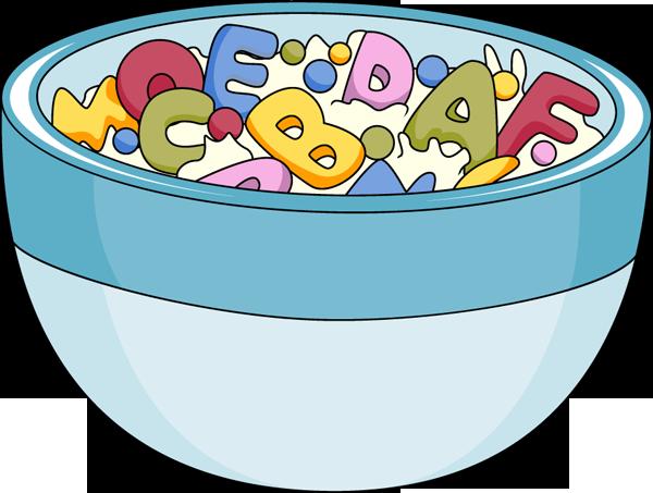 Alphabet soup clipart.