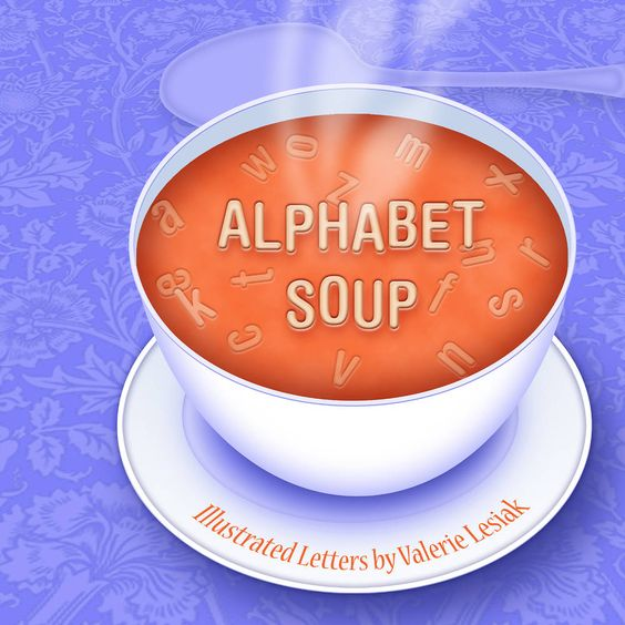 Alphabet, Soups and Alphabet soup on Pinterest.