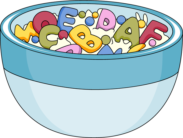 Cereal clipart alphabet stew Transparent pictures on F.