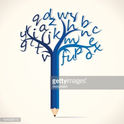 Alphabet Tree premium clipart.