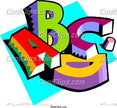Clipart Letters In Alphabetical Order Free.