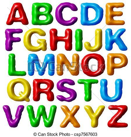 Alphabet Clip Art Free.