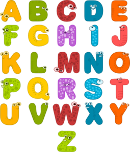 Clip Art Alphabet.