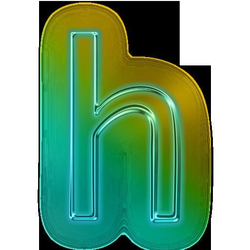 Glowing Green Neon Icons Alphanumeric » Icons Etc.