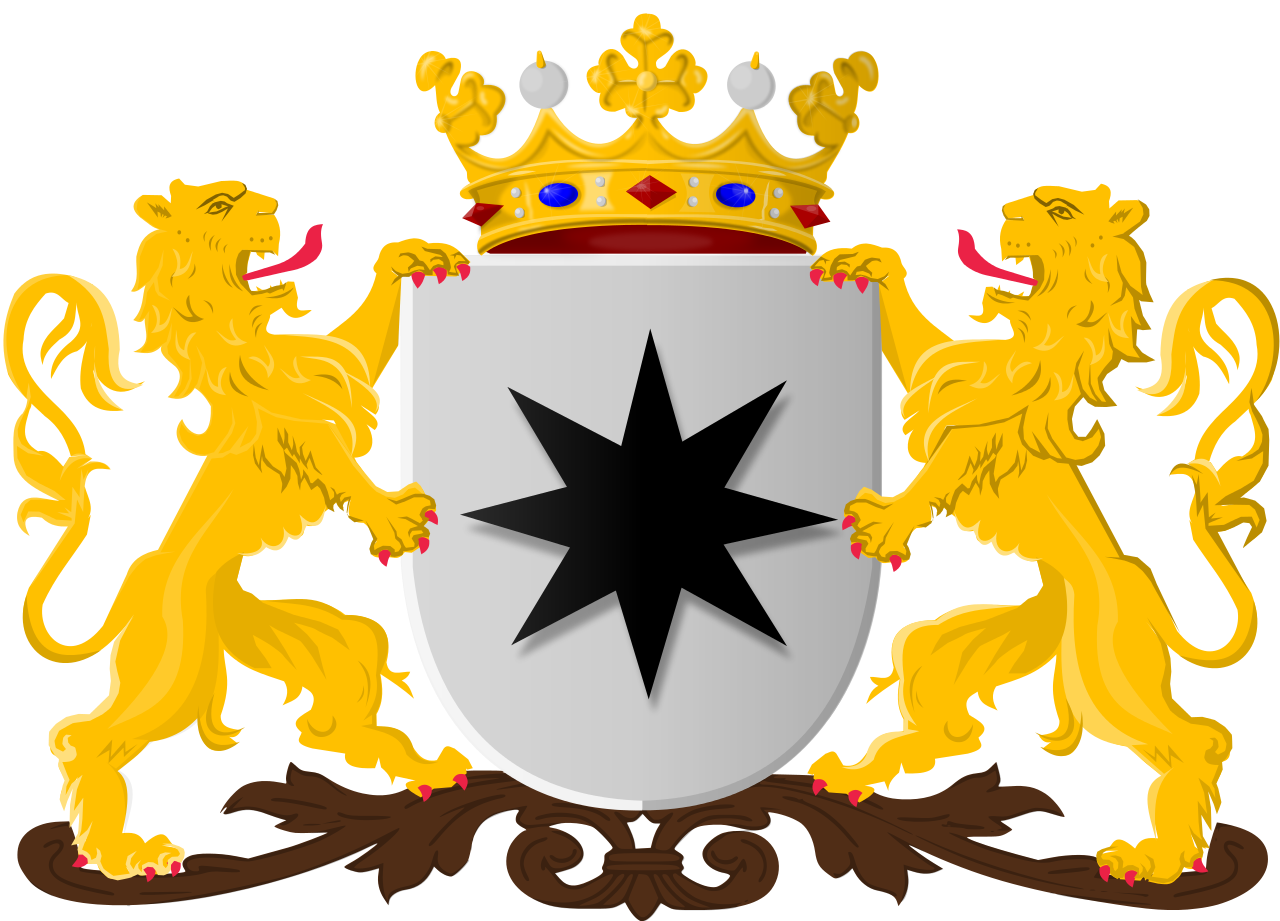 File:Coat of arms of Alphen aan den Rijn (former).svg.