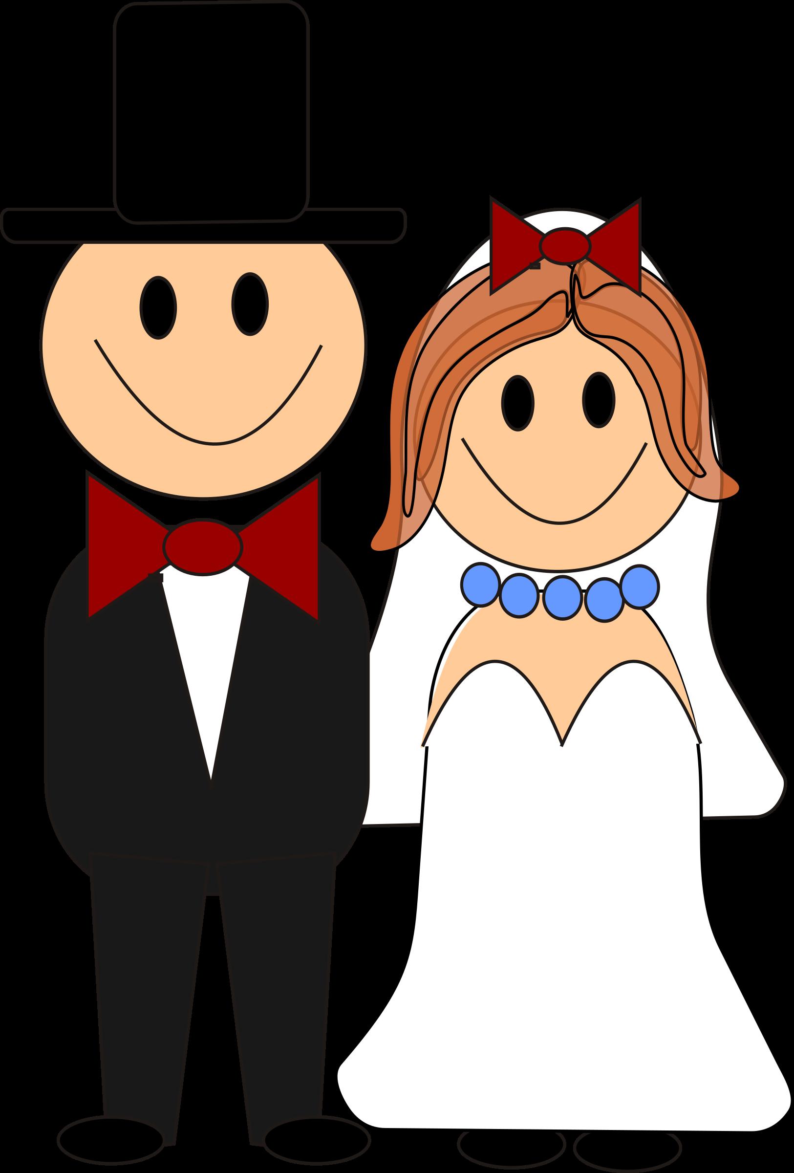 Brautpaar clip art gratis.
