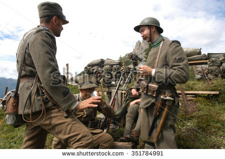 Italian Army Stock Images, Royalty.