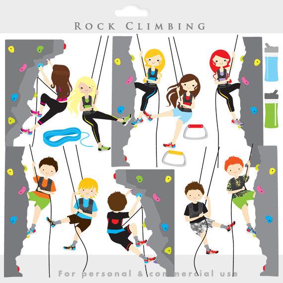 rock climbing scenes.