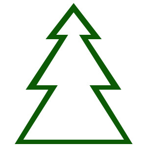Alpine Tree Clip Art.