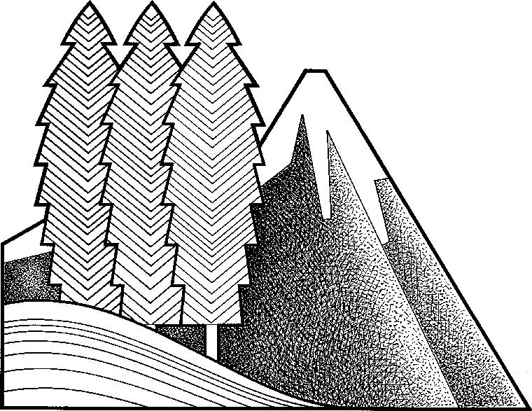 Alpine clipart.
