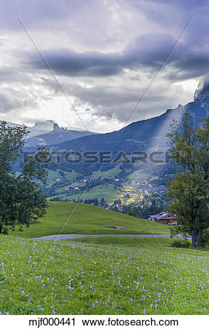 Stock Photography of Italy, Province of Belluno, Veneto, Cortina d.