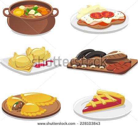 Alpine cuisine clipart #9