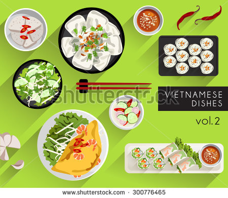 Vietnamese Food Stock Images, Royalty.
