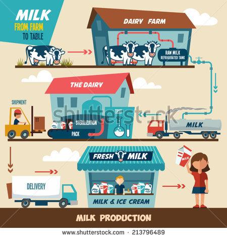 Dairy Farming Stock Photos, Royalty.