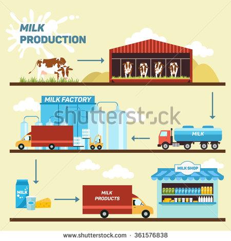 Dairy Farm Stock Photos, Royalty.