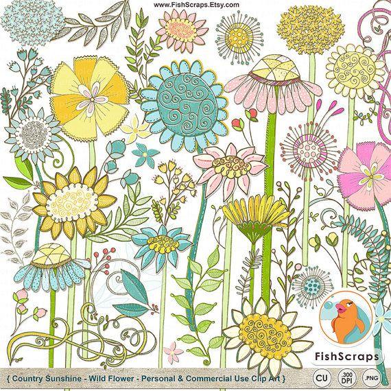 1000+ images about flower clip art on Pinterest.