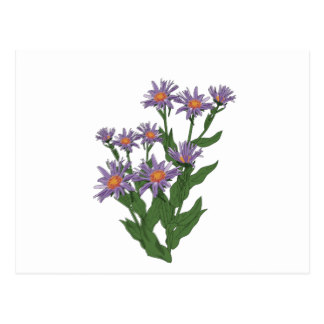 Flower Clipart Postcards.