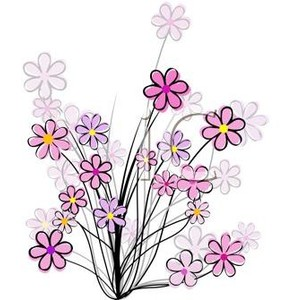 Wildflowers Clipart.