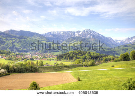 Foothills Of The Alps Stock Photos, Royalty.