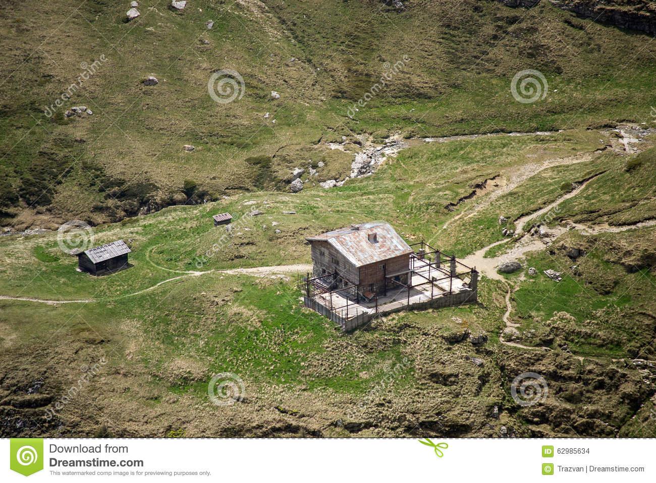 Alpine Hut.