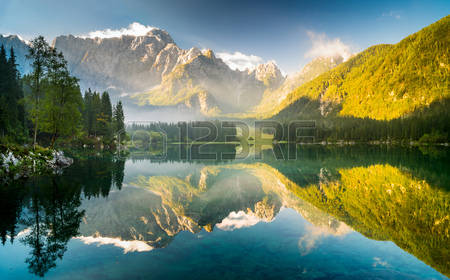 6,101 Alpine Lake Stock Vector Illustration And Royalty Free.