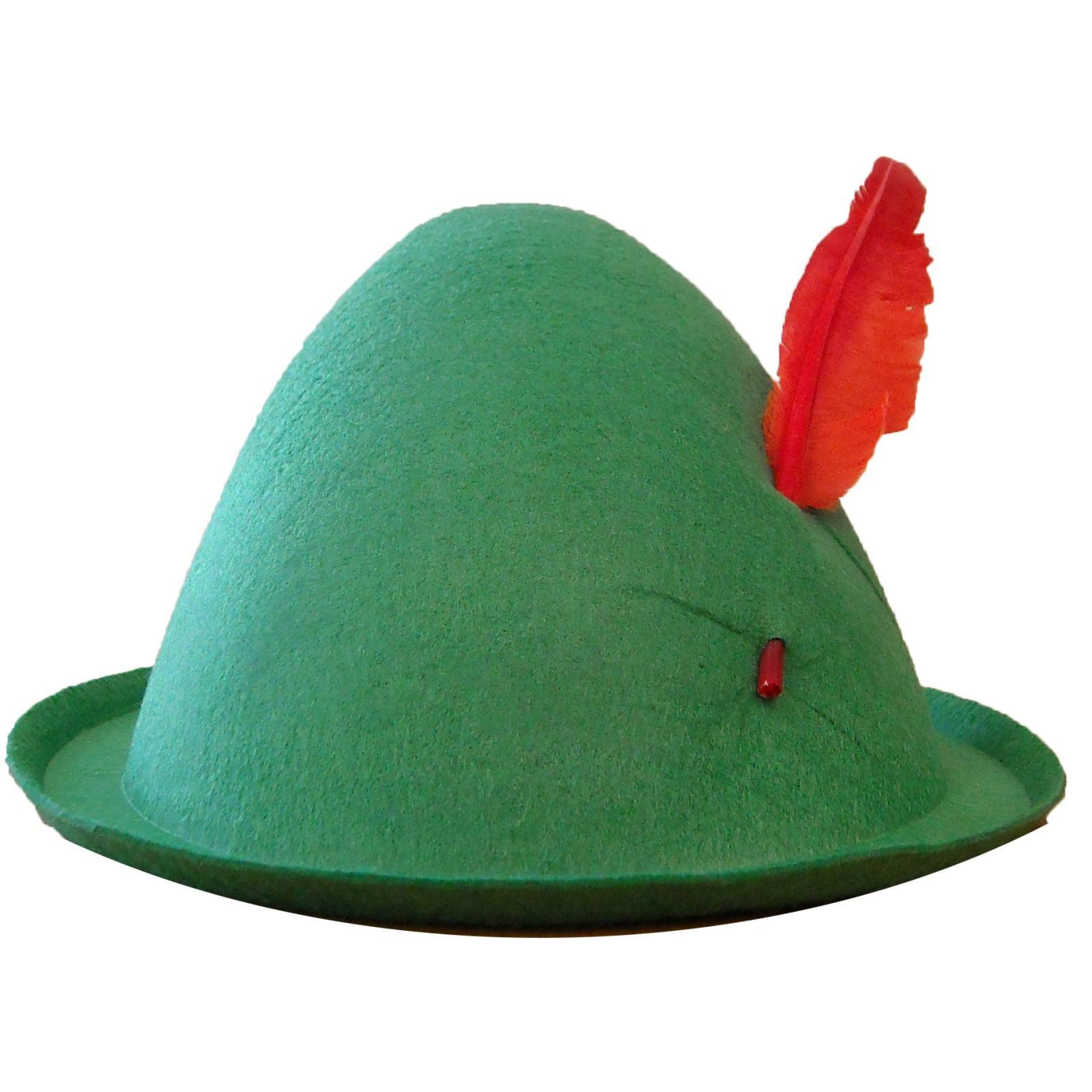 Economy Alpine Hat with Feather.