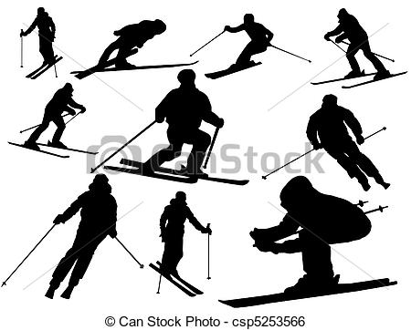 Skier Illustrations and Clip Art. 15,096 Skier royalty free.
