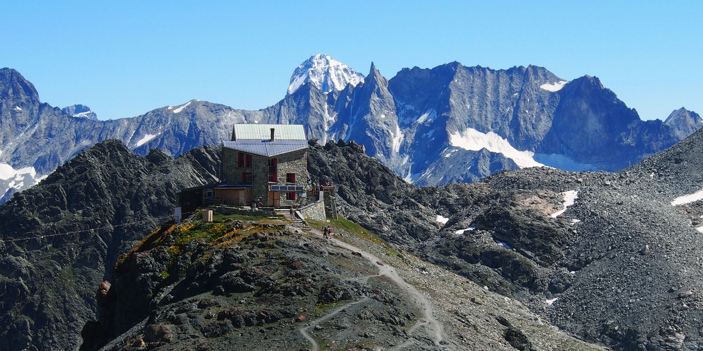 Hiking the Haute Route.
