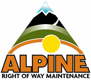 Right of Way Clearing Vegetation Management Alpine Tree Care Services.