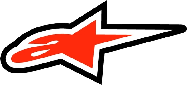 Alpinestars 2 Free vector in Encapsulated PostScript eps.