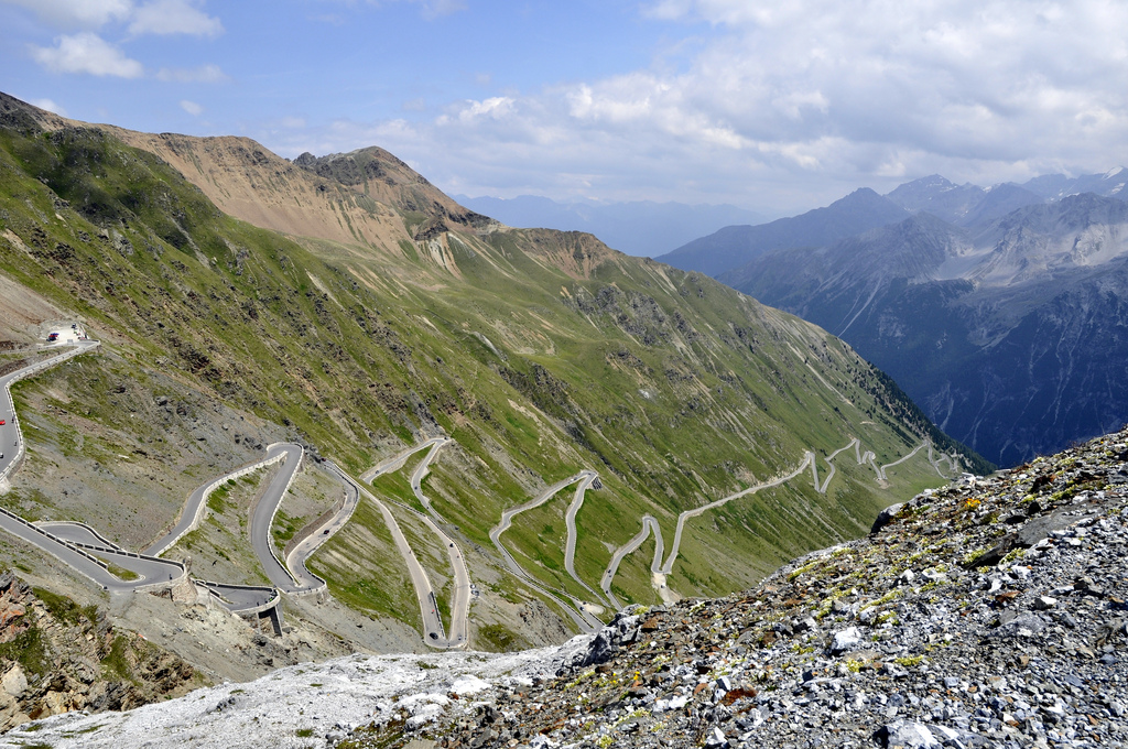 The World's Best Photos of alps and hairpins.