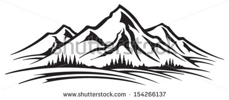 Mountain Landscape Stock Images, Royalty.