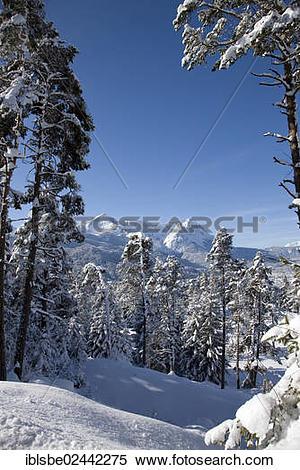 "Stock Image of ""Wetterstein Range, Alpspitze Mountain, Zugspitze."