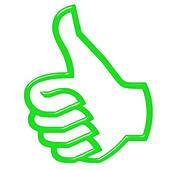 Clipart of yeah! cartoon symbol k14873515.