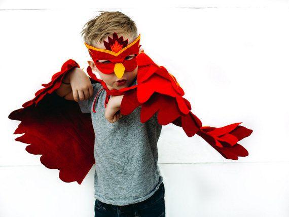 Childrens Feuer Vogel Kostüm Phoenix Kostüm Flügel von.