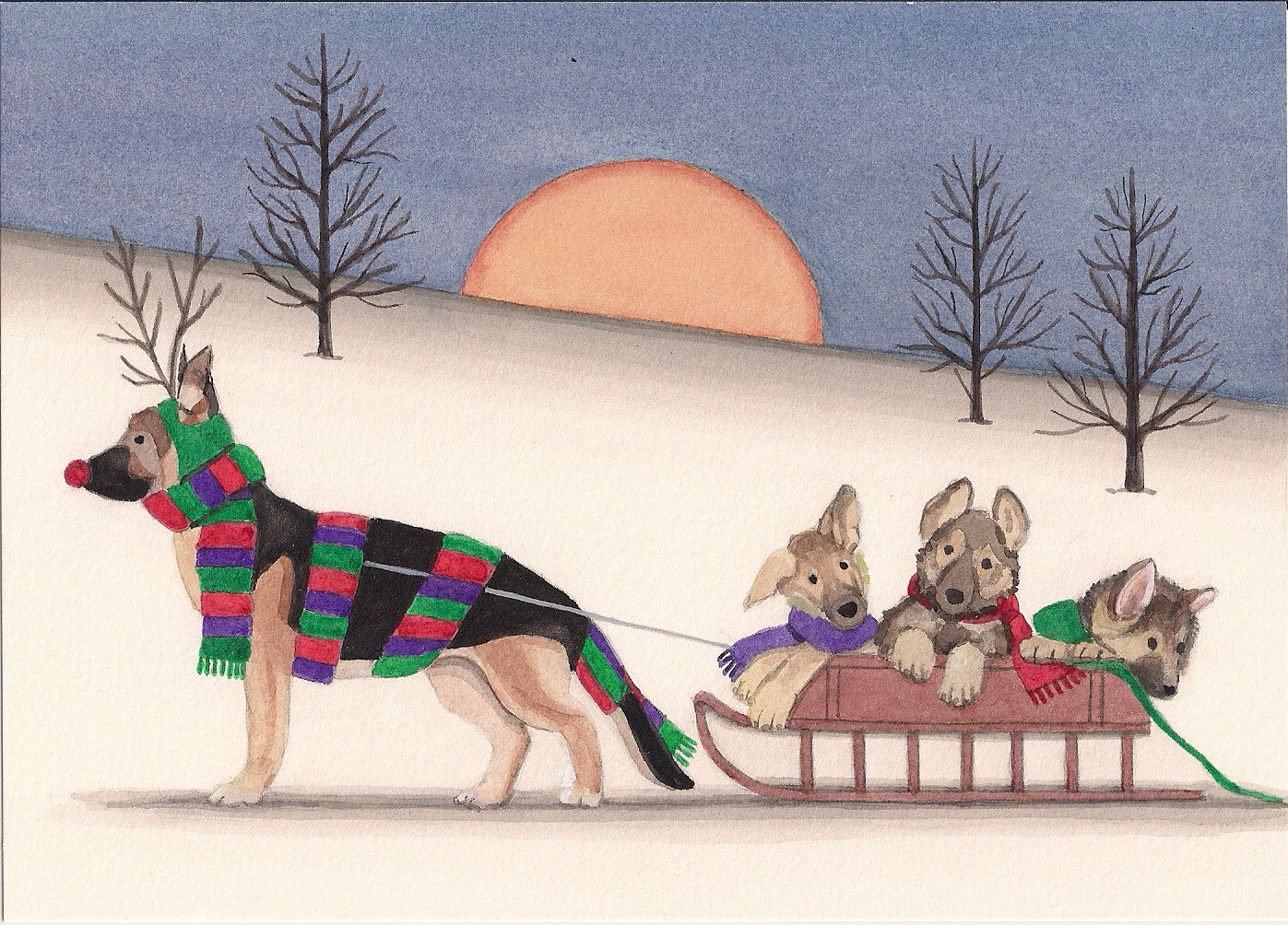 1000+ images about The German Shepherd Pack: Cute gifts for people.