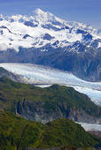 Stock Images of The Alsek River Flows Past Walker Glacier And The.