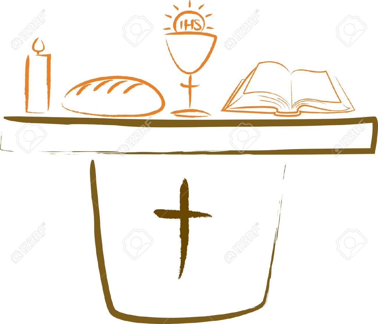 Altar Clip Art Religious.