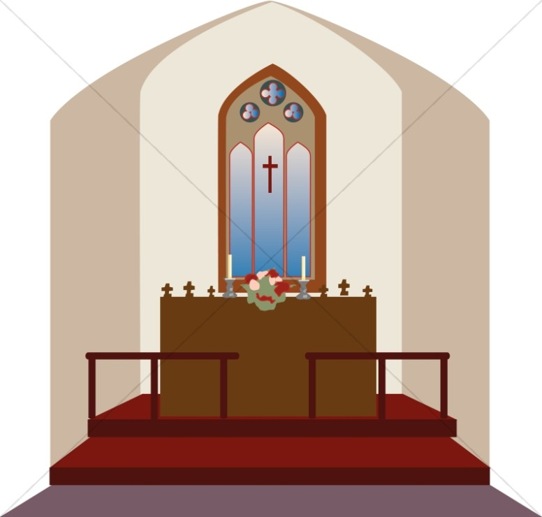 Clip Art for Church Altar.
